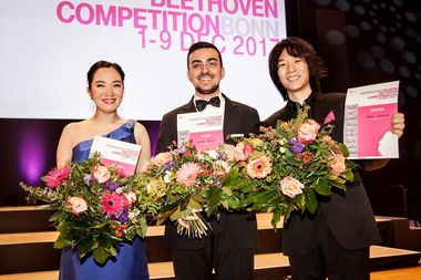 Alberto Ferro gewinnt die International Telekom Beethoven Competition Bonn 2017