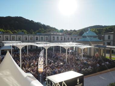 Rückblick auf das erste Open-Air Konzert im Luitpoldbad