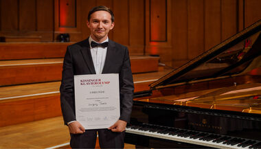 Sergey Tanin wins the 18th Bad Kissingen Piano Olympics